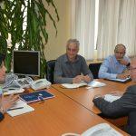 Чланови управљачког тима за формирање ЗСО са шефом ОЕБС-а