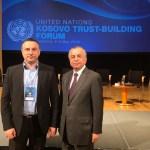 Popović u Ljubljani: Prisustvo UN-a važno za održavanje trajnog mira