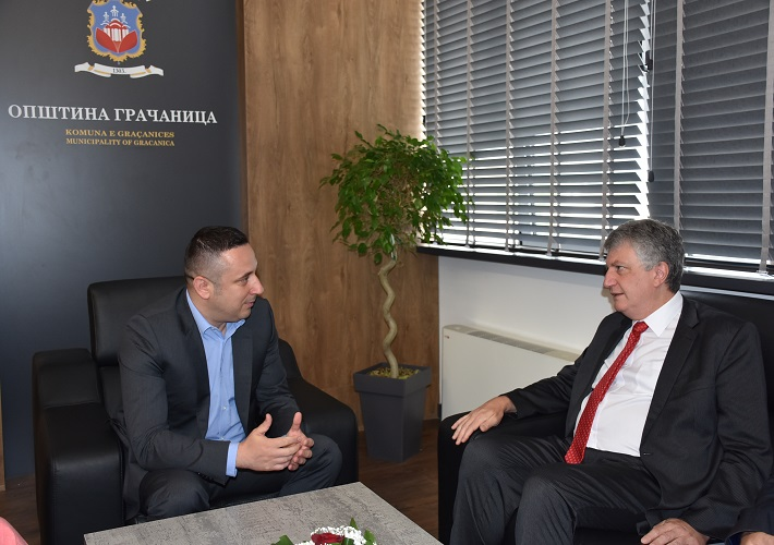 Поповић и Шабер о сарадњи на заједничким пројектима