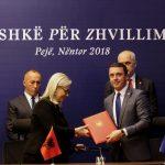 Пећ: Потписан споразум о сарадњи омладинских организација Косова и Албаније