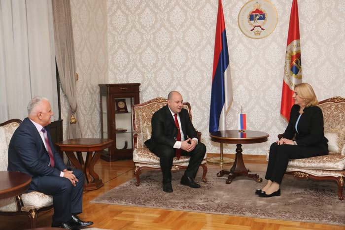 Бањалука: Козарев и Цвијановићева о могућностима за помоћ Косовским Србима
