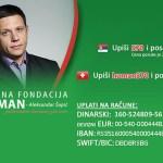 SMS za pomoć novinaru Peđi Obradoviću