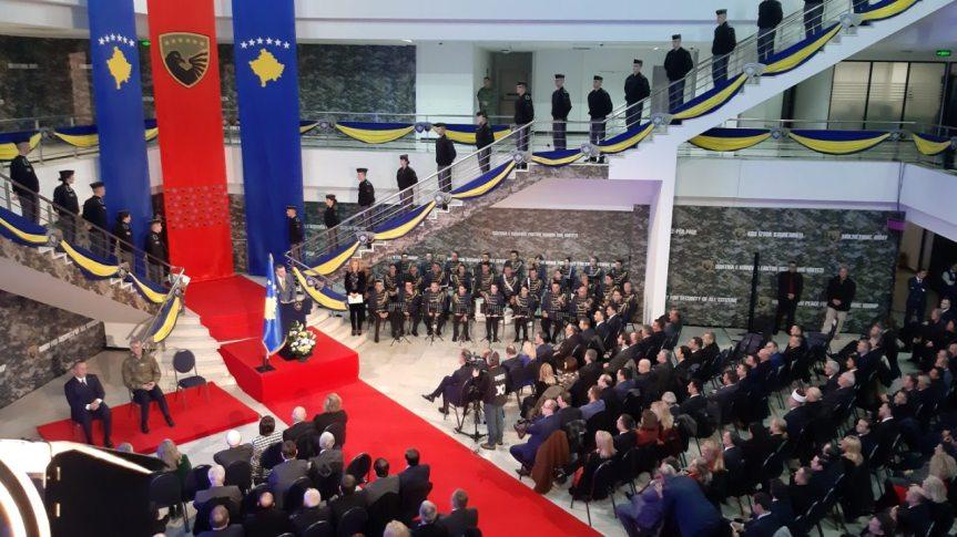 Тачи на свечаности у Приштини: Највеће је задовољство бити врховни командант БСК-а