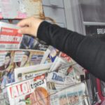 Српска штампа поново јужно од Ибра