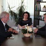 Susret zamenika Trana i kosovske ministarke za Lokalnu samoupravu Adrijane Hodžić