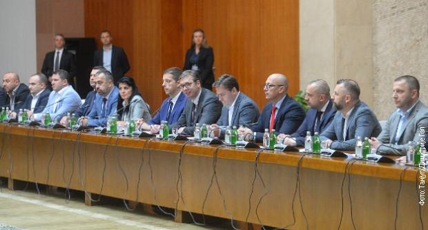Vučić posle sastanka sa predstavnicima Srba sa Kosova: Beograd spremio mere protiv Prištine