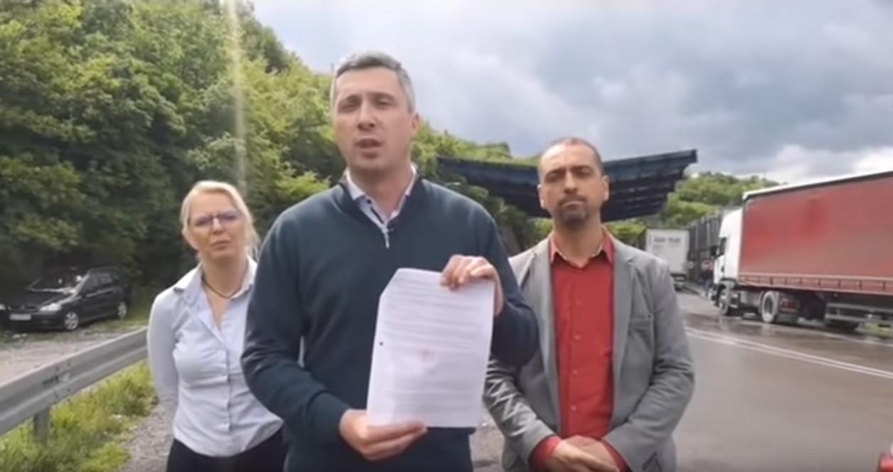Bošku Obradoviću danas ponovo zabranjen ulaz na Kosovo i Metohiju
