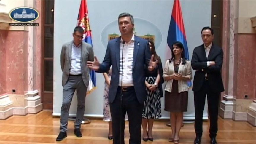 Бошко Обрадовић: Опозиција је за нормалан дијалог, али са јасним гаранцијама