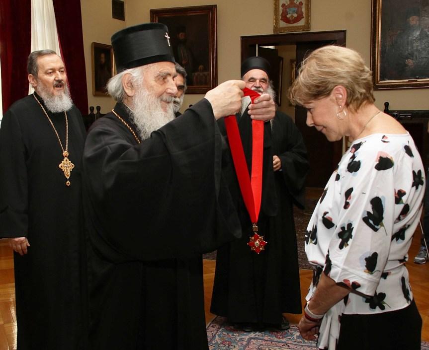 Орден Светог Саве другог реда за г-ђу Кети Фенслоу из Чикага