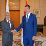 Први састанак Ђурића и амбасадора РФ у Србији Александра Хорченка