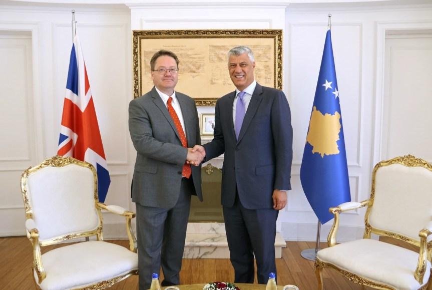 Хашим Тачи примио амбасадора Уједињеног Краљевства