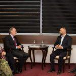 Далибор Јевтић са делегацијом НАТО-а