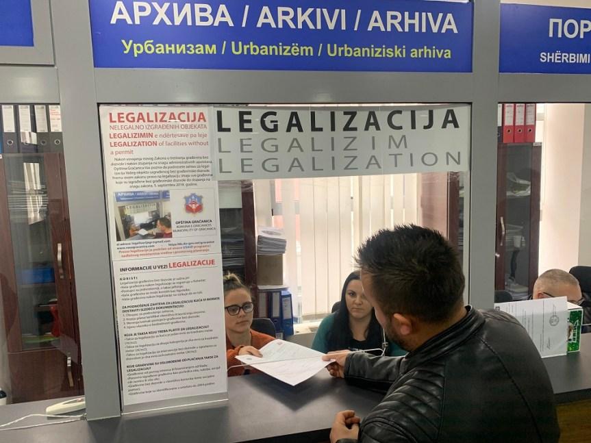 Општина Грачаница почела са легализацијом објеката