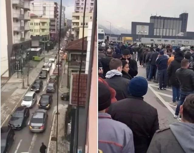 Гужве у саобраћају у Приштини, редови, Институт за јавно здравље: Грађани, шта радите то?!