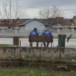Чишћење улица Грачанице