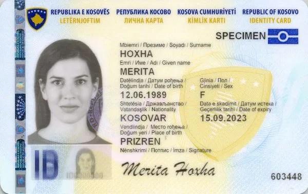 Продужава се рок трајања косовских личних карата