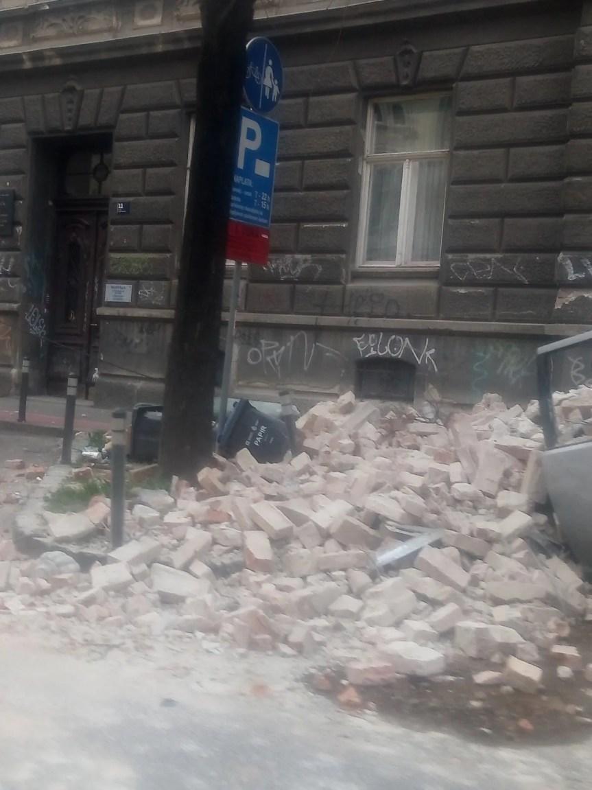 Јак земљотрес у Загребу