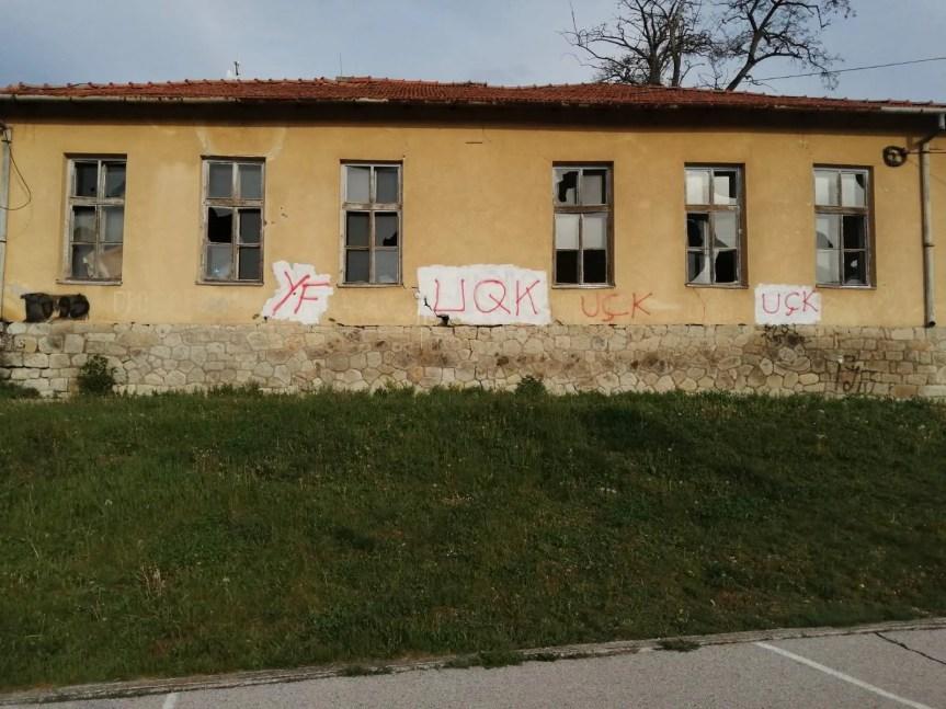 Канцеларија за КиМ: Исписивање графита у Гојбуљи, најогољенији покушај присилног исељавања