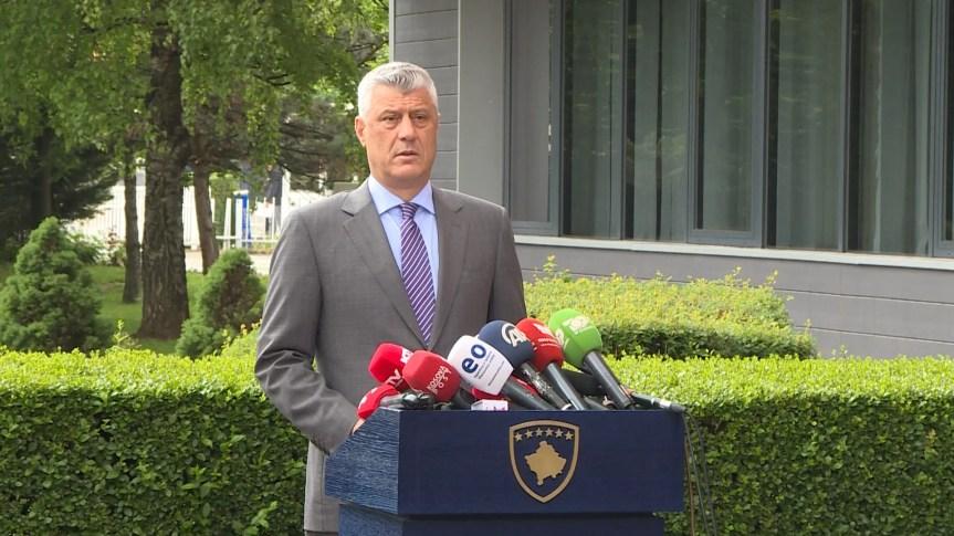 Тачи се не оглашава, Еди Рама на Косову