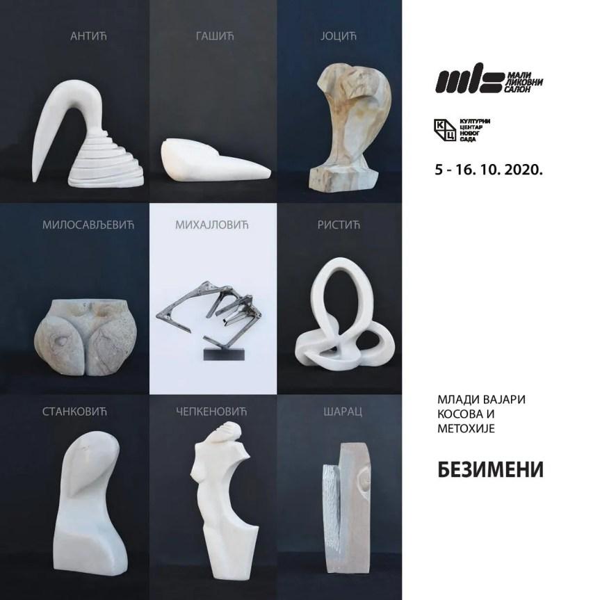 Изложба младих косовскометохијских вајара у Новом Саду
