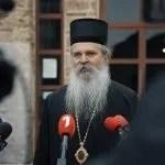 Владика Теодосије одслужио мали помен блаженопочившем патријарху Иринеју