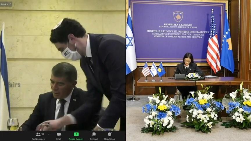 Потписан споразум о дипломатској сарадњи између Израела и Косова