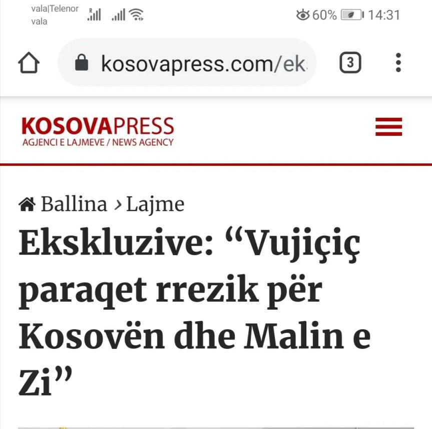 Вујичић: Нисам пријетња за националну безбедност Црне Горе