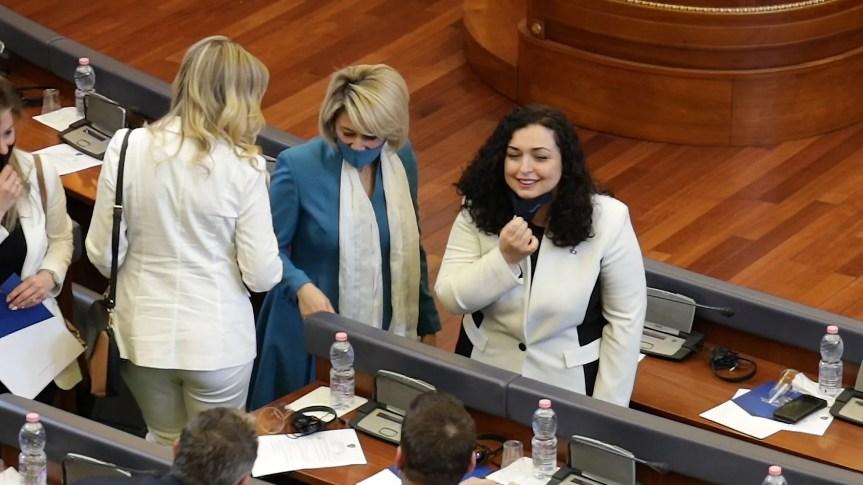 Вјоса Османи није (још) изабрана за председницу Косова