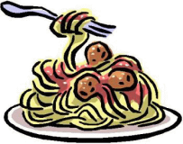 Spaghetti-Dinner-Clipart