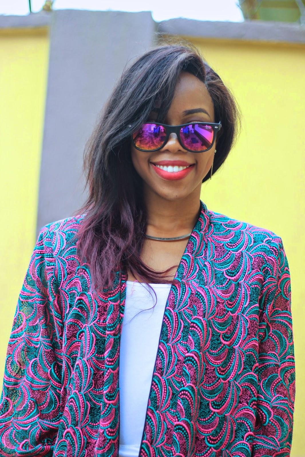 Sunglasses by Valentine Okolo