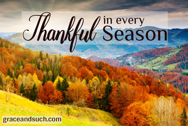 Thankful in every Season