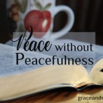 Jennifer Mobley Thompson Peace Without Peacefulness