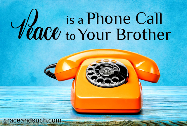 Peace is a Phone Call