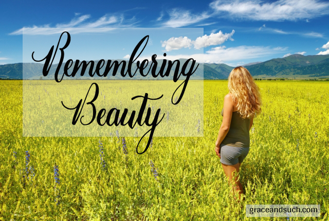Remembering Beauty