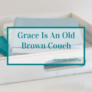 http://graceandsuch.com/grace-is-an-old-brown-couch/