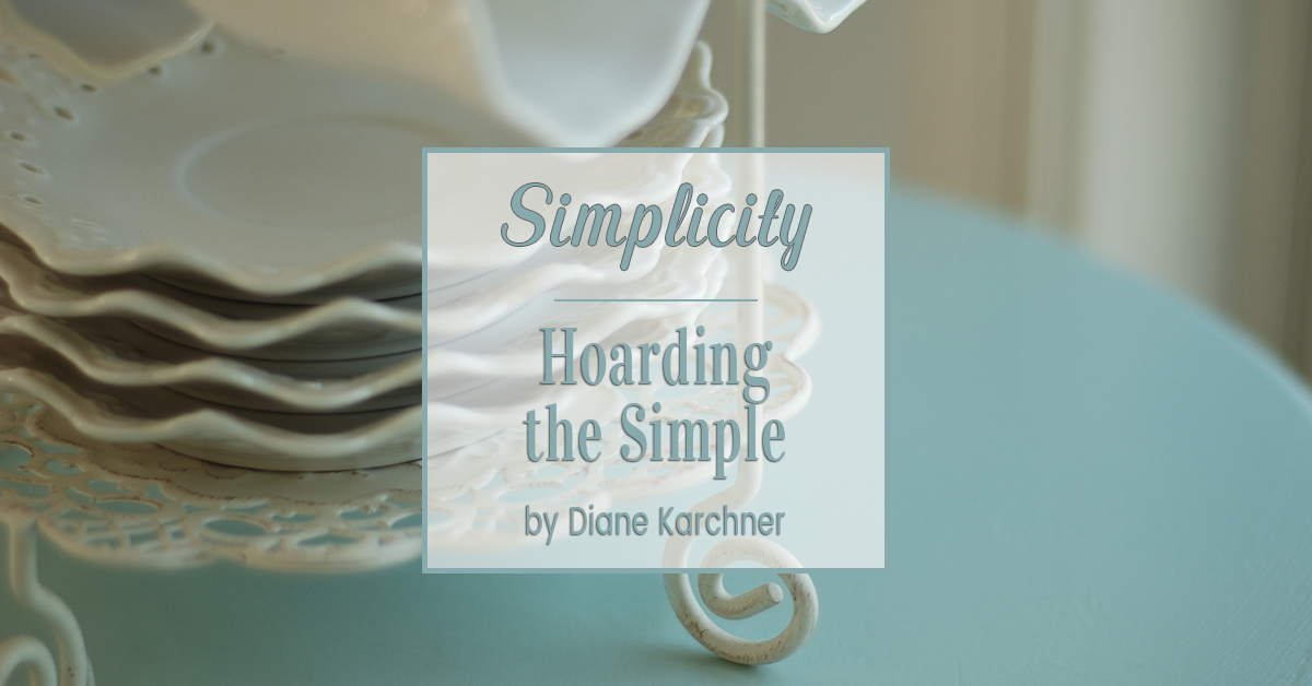 Hoarding the Simple
