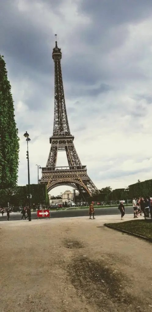 where to see the eiffel tower paris, france