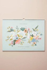 Rifle Paper Co. Botanical 2018 Appointment Calendar