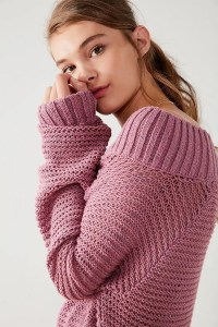 Kimchi Blue Kelli Off-The-Shoulder Sweater