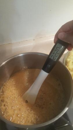 Cough Drop DIY Bubbling Honey Hot