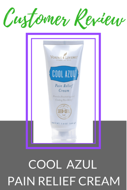Customer Reveiw Cool Azul Pain Relief Cream #graceblossomsblog #pain #painrelief #youngliving.png