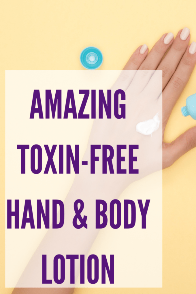 The best toxin-free hand and body lotion options that you'll absolutely love. Both lock in moisture and make your skin feel great!