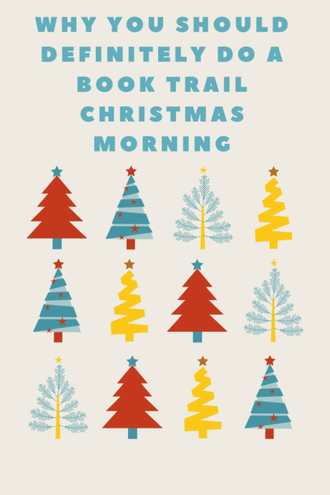 Here's why your family will love and should incorporate a book trail to your Christmas morning festivities!
