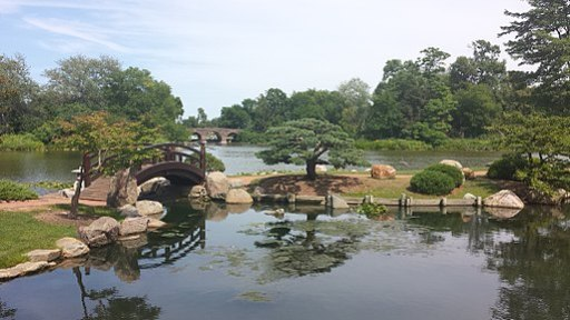 Japanese Garden in Chicago's Jackson Park