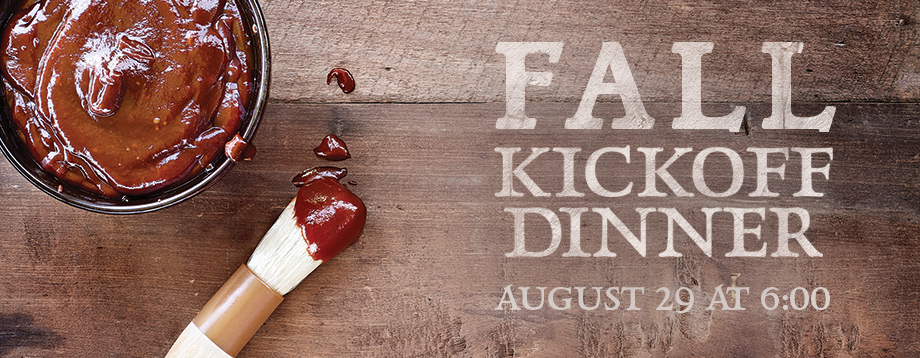 Free barbecue dinner for the entire church family