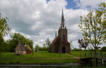 Another view of Harkema church