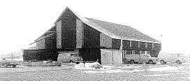 Grace United Church of Christ, Eden, Pennsylvania, construction winter 1971