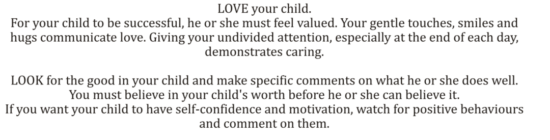 8 L's of Parenting Made easy