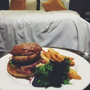 Supper - chicken burger which was super gooooooood