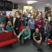 Conference group in Bradford, Ohio